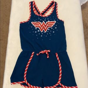 Girls Wonder Woman romper